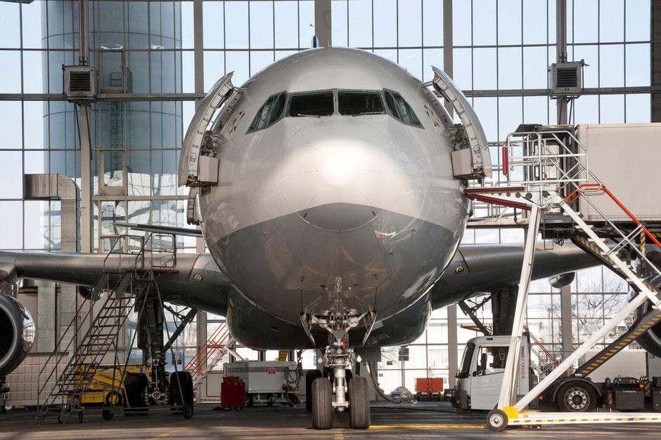 Hangar, Lufthansa, München, Airbus A300