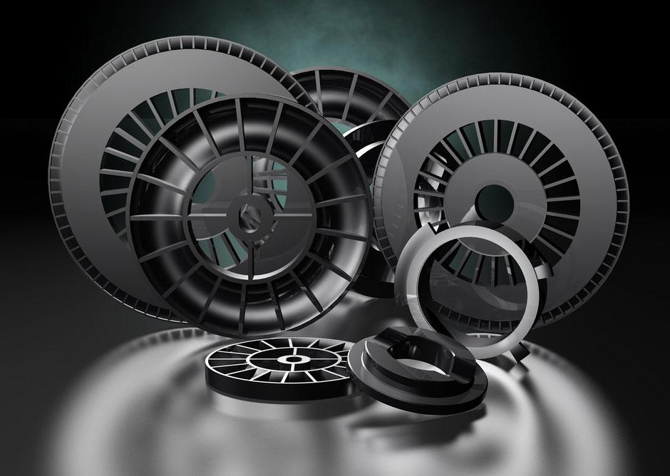 3D-Visualisierung Teile