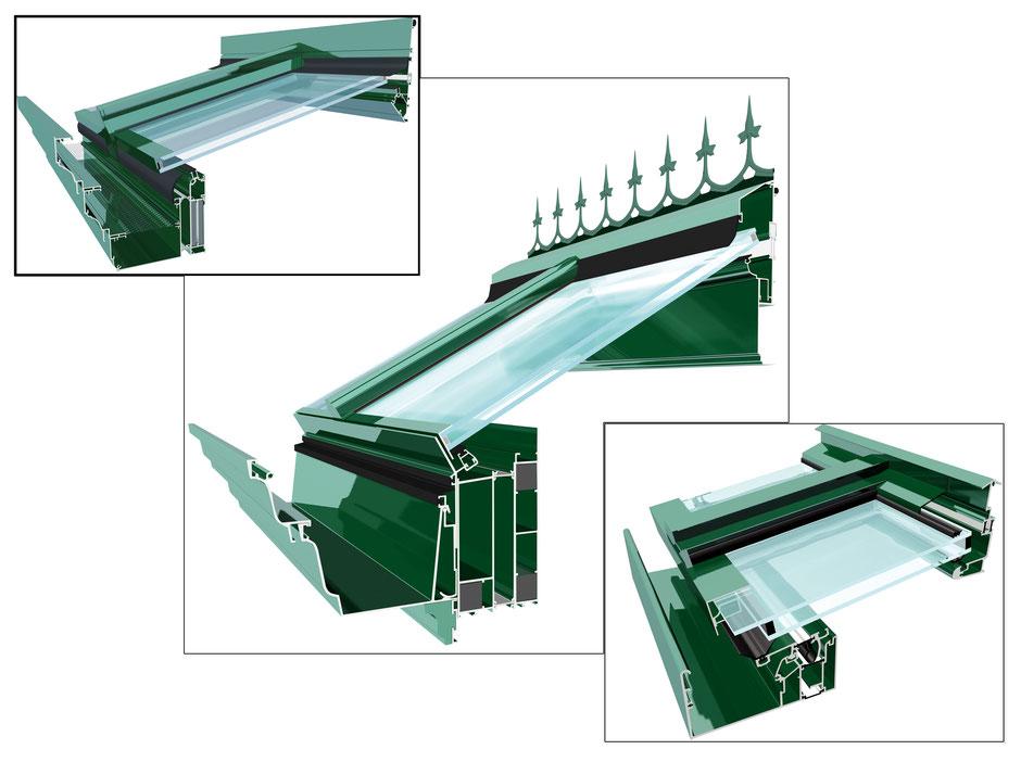 3D-Visualisierung Fensterbau, Wintergartenbau
