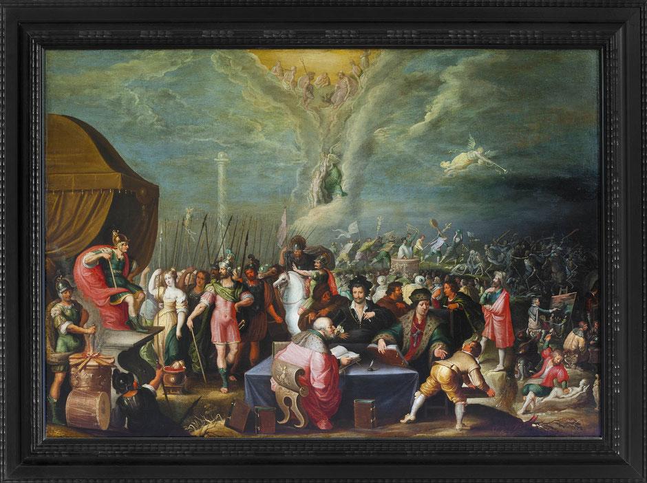 Anhaltische Gemäldegalerie, Schloss Georgium, Gemäldereproduktion 4