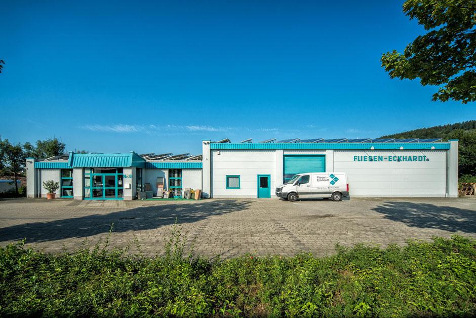 Fliesen-Eckhardt, Firmengelände mit Ausstellung und Büro, Mörshäuser Weg 6, 34286 Spangenberg