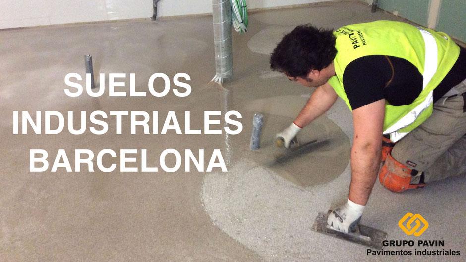 Pavimento industrial en Barcelona para todo tipo de sectores industriales