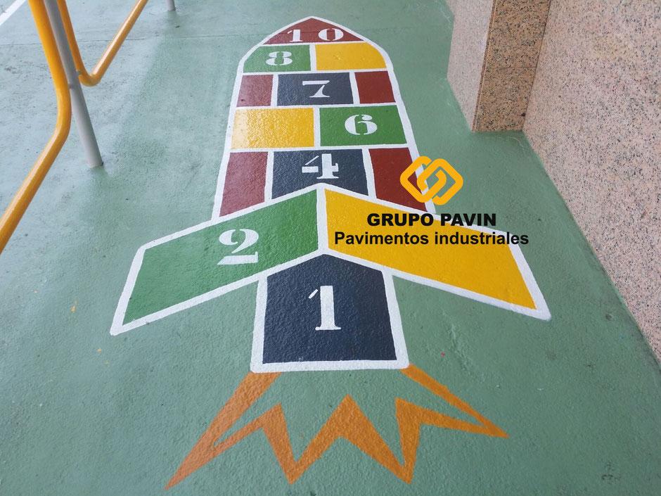Pavitecnik,suelos,pavimentos,industriales,Barcelona,juegos,infantiles
