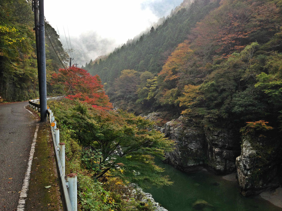 Bike-Tours-Japan-Shikoku-Oboke-Gorge