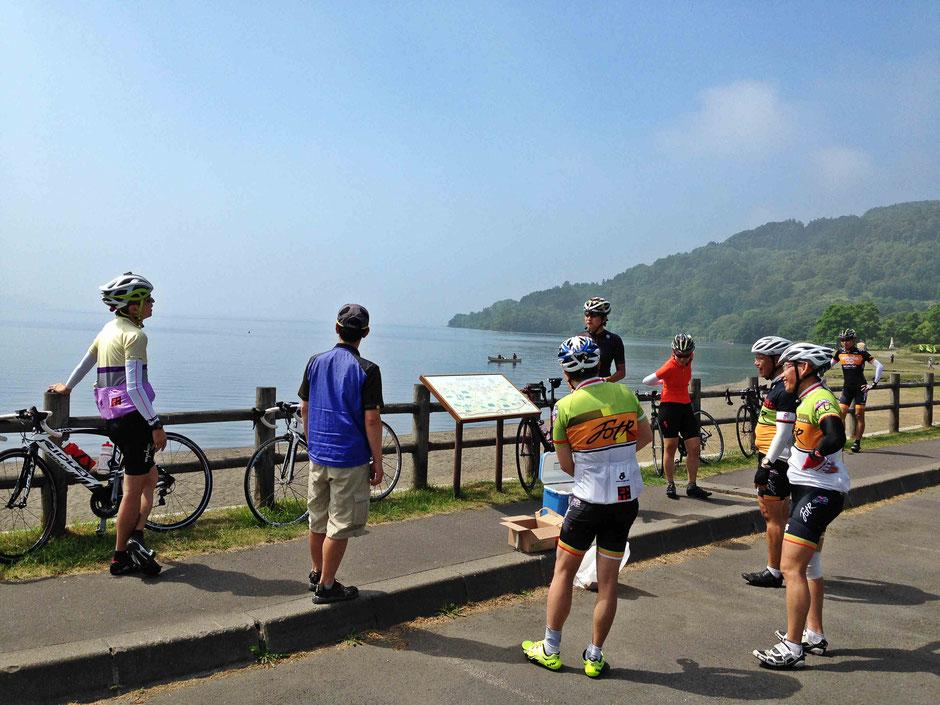 bike-tours-Hokkaido-Lake-Toya