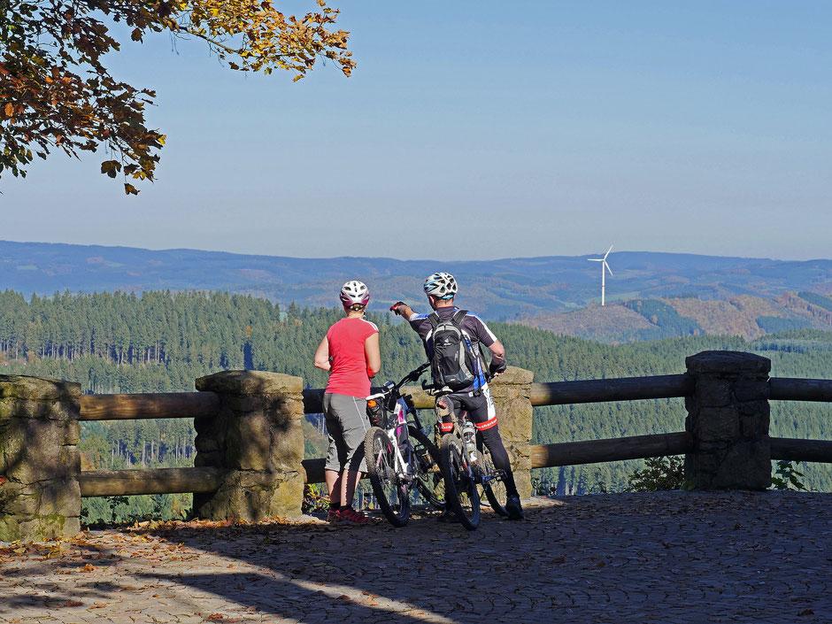 Radtour in Winterberg