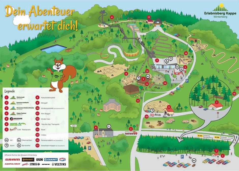 Wandern am Rothaarsteig in Winterberg