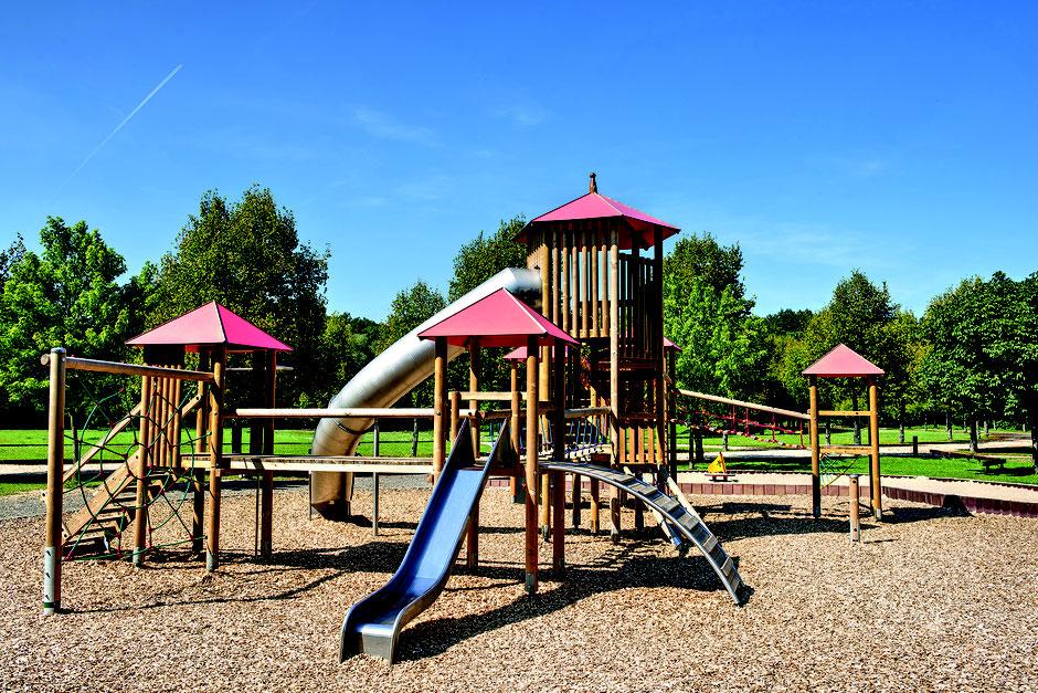 Garten Eden - Fallschutzbelag natur für Spielplätze, DIN EN 1176/77 zertifiziert