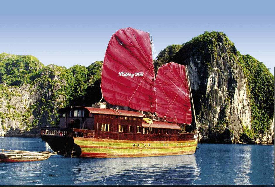 Die Halong Bucht in Vietnam