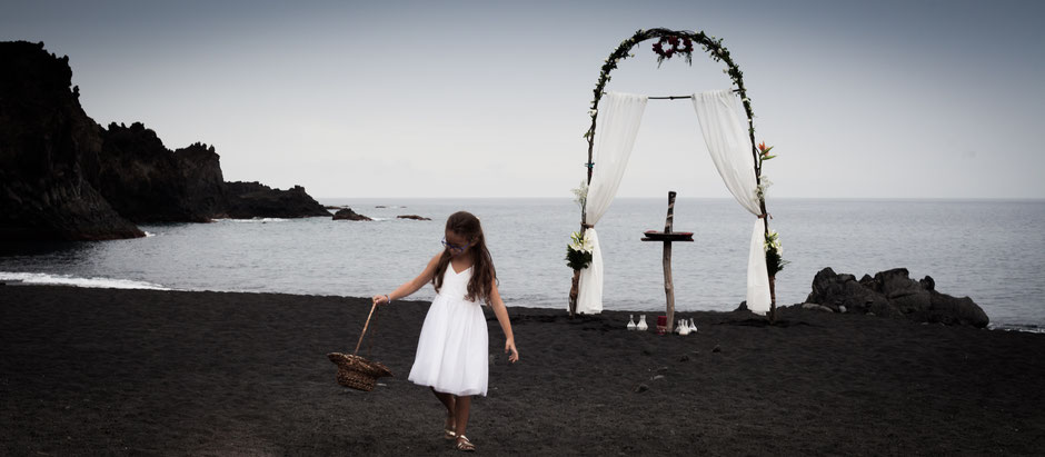 Hochzeitsaufnahmen La Palma