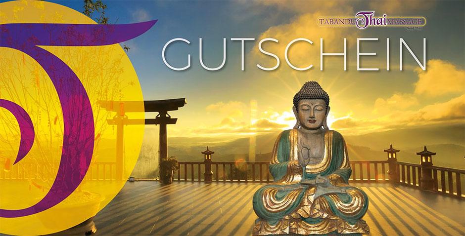 Geschenkgutschein bei TABANDU THAI MASSAGE in Mainz als Muttertags Geschenk
