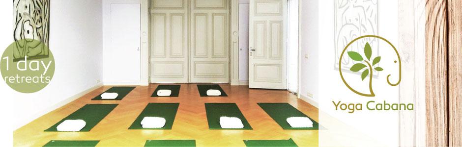 ruimte voor yoga 1 day retreats, eendags retraites