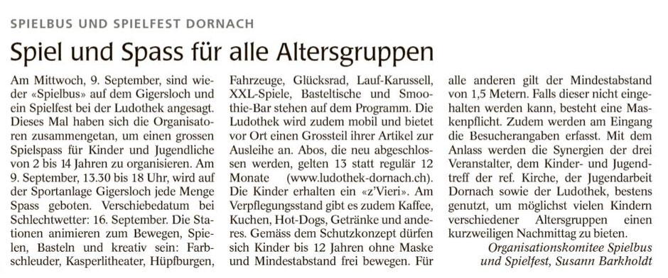 Wochenblatt vom 03.09.2020
