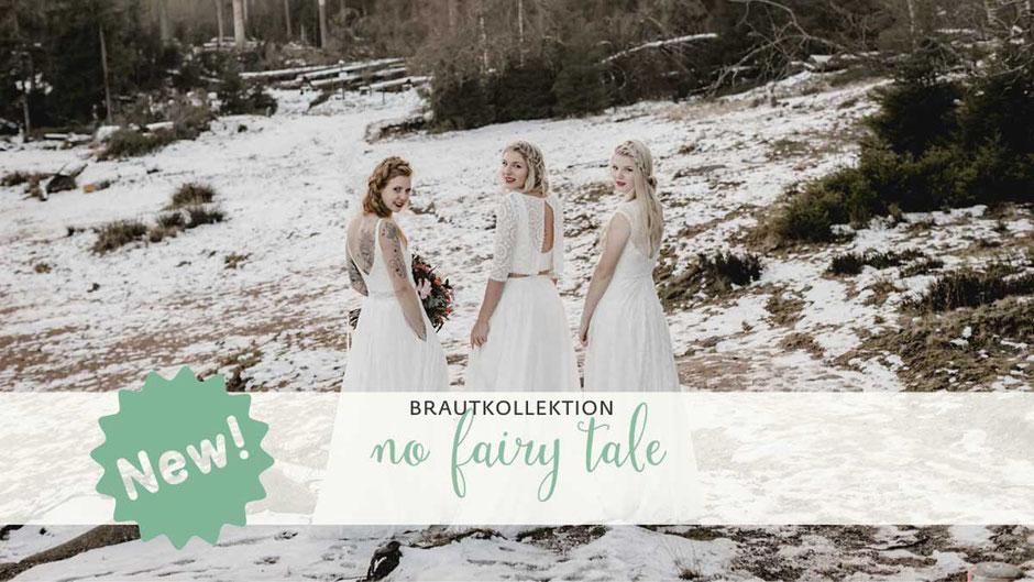 Die neue elementar Brautkollektion NO FAIRY TALE besticht durch natürliche Lässigkeit und nachhaltige Materialien: Wir verwenden fließenden Baumwoll Tüll, feinsten Baumwoll Batist und Satin, Ramie, Tencel Baumwoll Mischungen, selbstverständlich alles in B