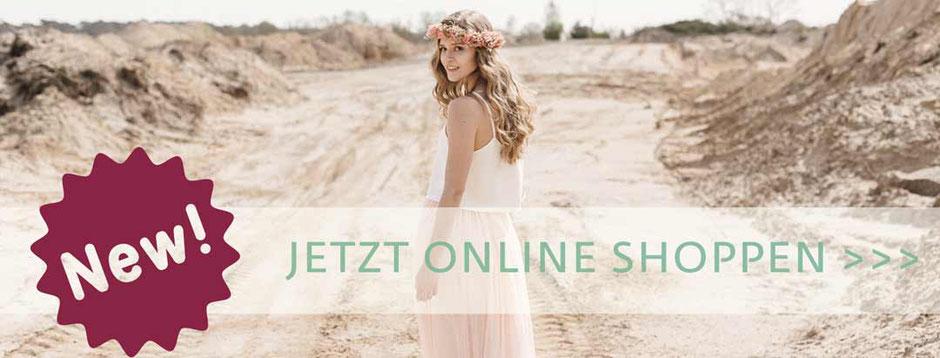 elementar Brautkleider I natürlich, schlicht und nachhaltig - Jetzt auch im Onlineshop
