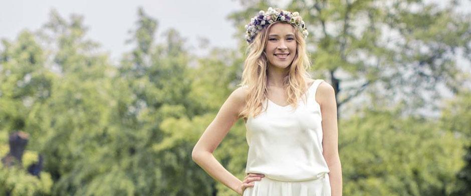 Brautkleider Zweiteiler - leicht und unkompliziert