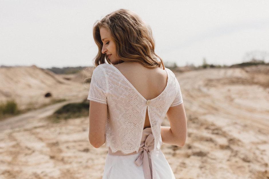 Vintage Brautkleider, romantisch und verspielt