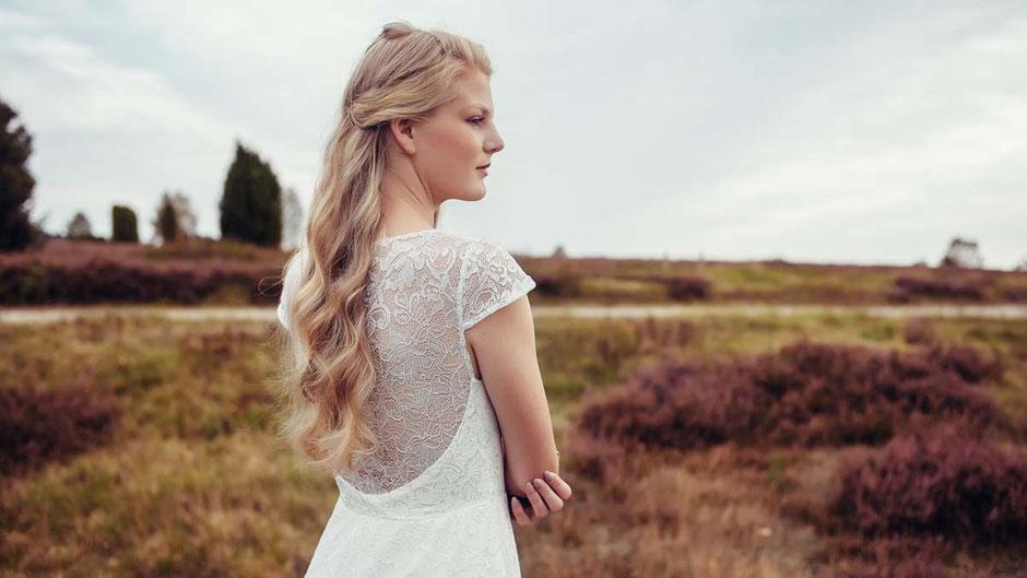 Hochzeitskleid Spitze, zart und romantisch