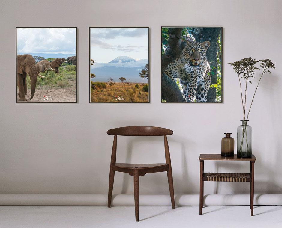 Foto Glück Fineart Prints Afrika