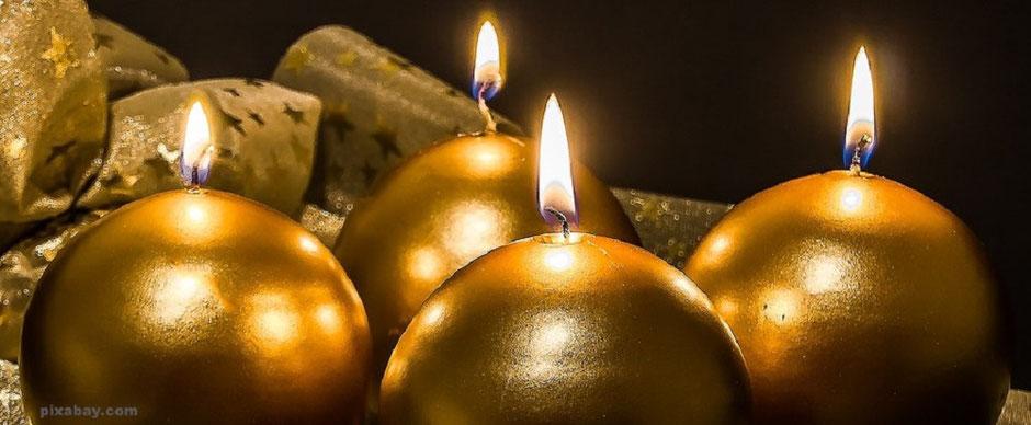 Frohe Weihnachten - 4. Advent