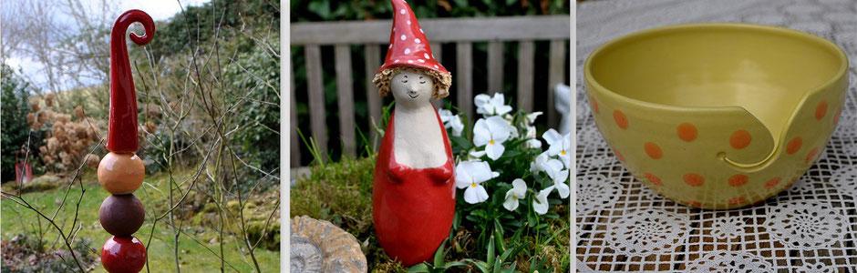 Gartenkeramik Neuware