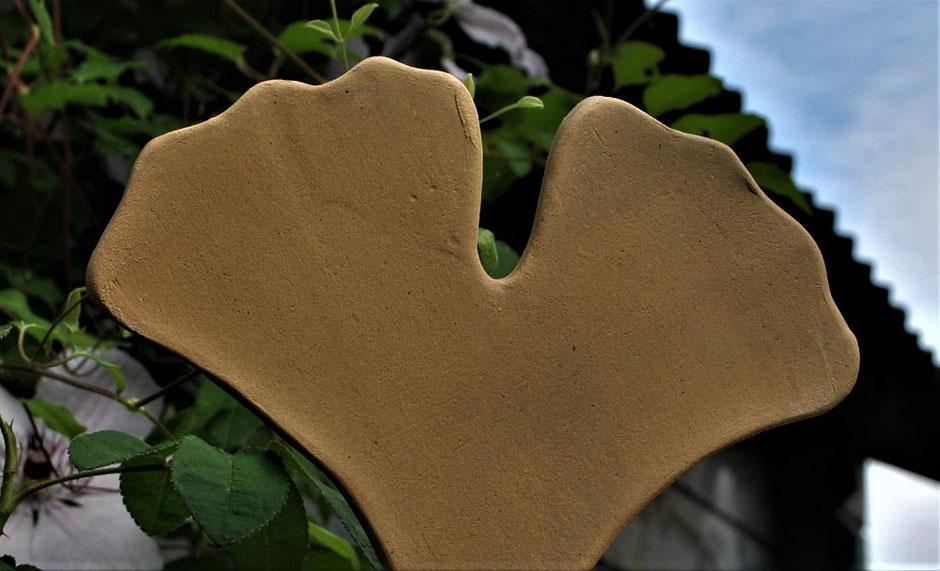 Gingko-Blatt  als Symbol der Liebe