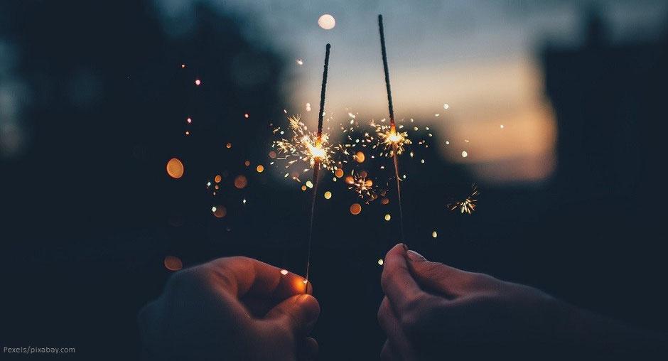 Abschied von 2019 - Frohes neues Jahr 2020