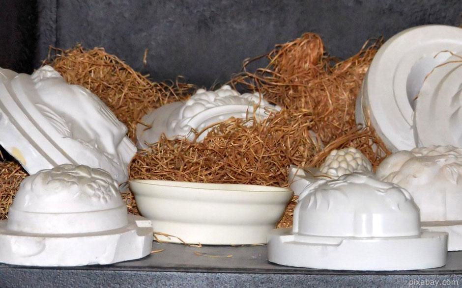 Töpfertechnik Keramik gießen