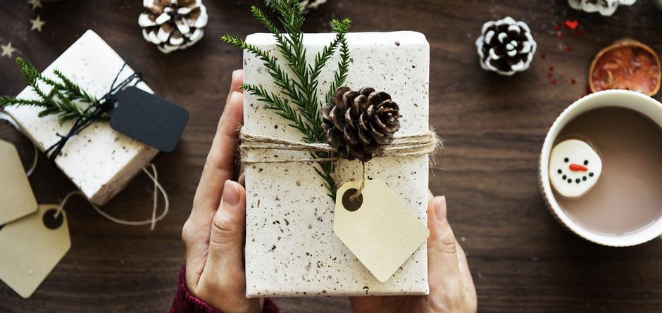 Geschenkgutscheine zum online Ausdrucken, Geschenkverpackung