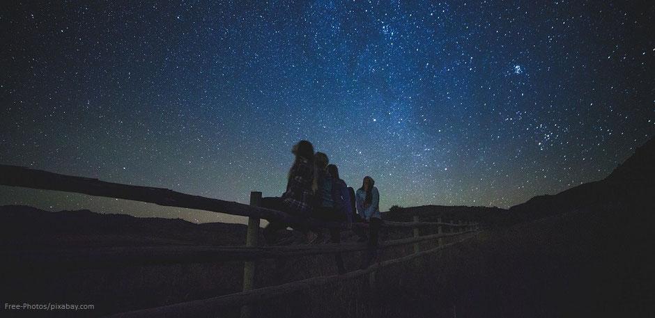 Glück wie Sterne am Himmel