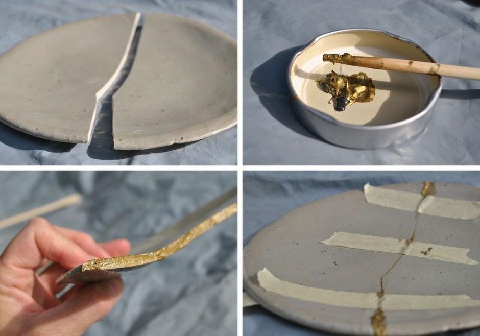 DIY Anleitung Keramik kleben