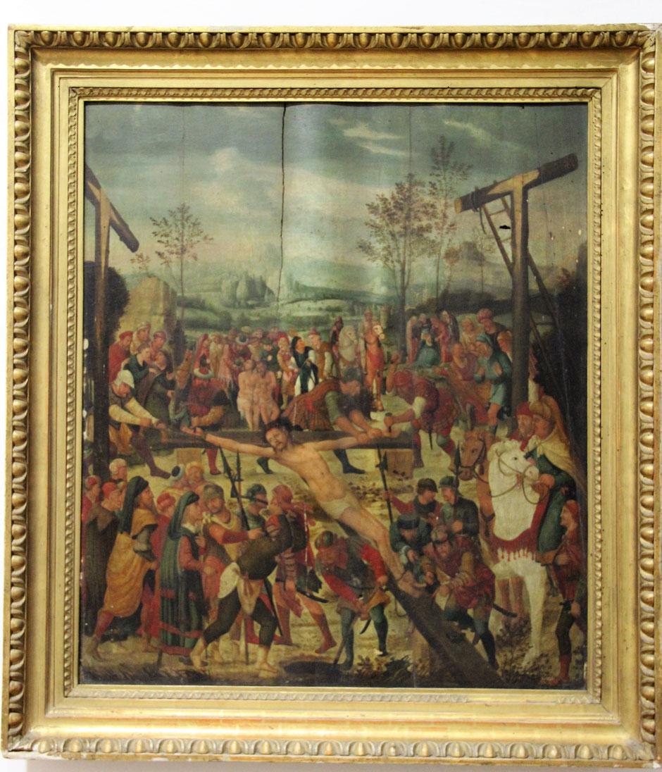 Die Kreuzigung Christi - Bildaufnahme 2014 im Diözesanmuseum