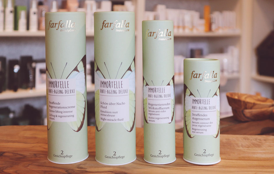 Farfalla Immortelle Anti-Aging Deluxe neu bei BioBalsam Naturkosmetik