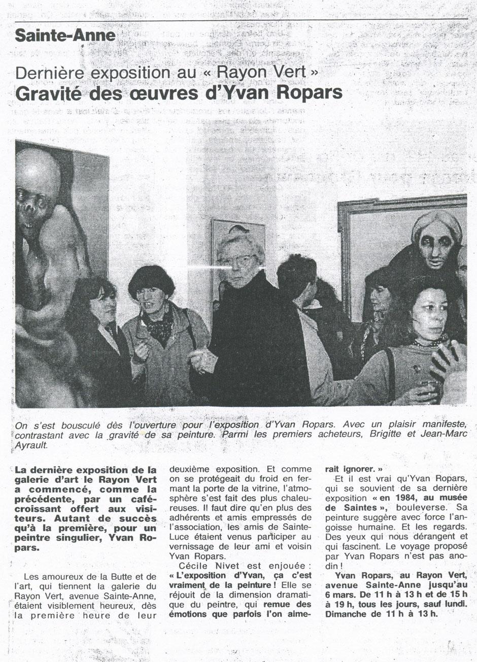 Ouest-France 8 février 1993