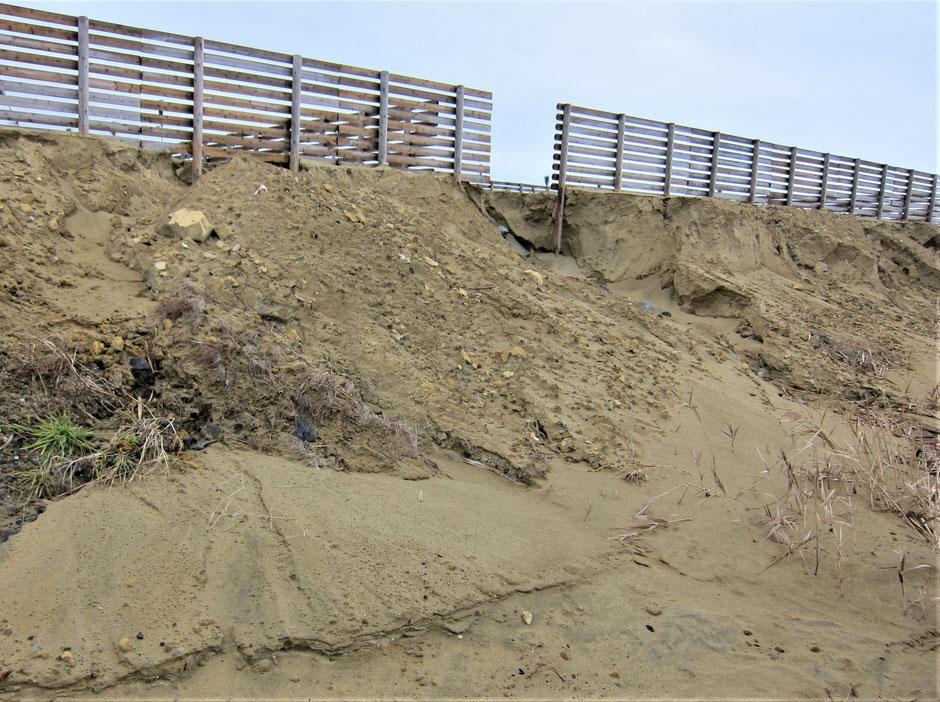 台風やゲリラ豪雨などにより、のり面や斜面が土砂崩れる事例が増えております。当社では、手軽に土留が出来るプラスチックネットフェンスをご紹介しております。