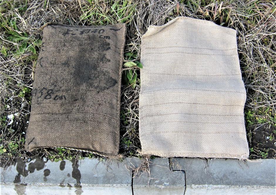 豪雨などにより、川が氾濫し市街地に水が押し寄せた時にイロクを発揮する土嚢袋を写真付きでのご紹介です。自ら水を給するために、土を要する必要がなく普段はコンパクトに物置へ収納できます。