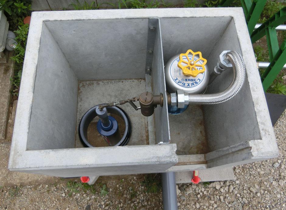 畑の地下水位を簡単に調整したい方や、暗渠パイプが詰まった時に洗浄できる機能がついた給水ますを欲しいと考えていた方に朗報です。