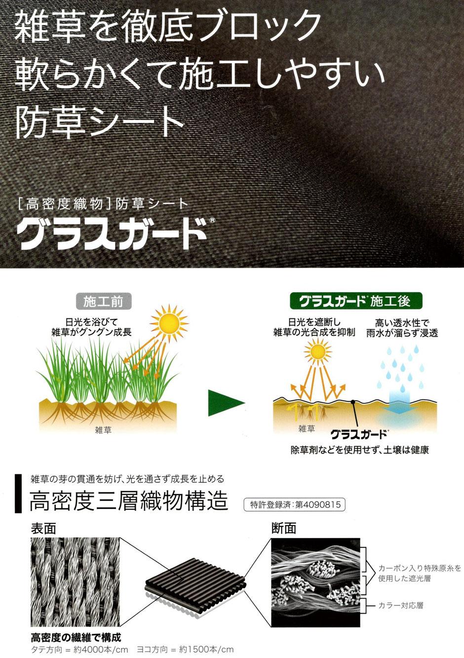 太陽光発電の妨げとなる、芝の生育を抑制するシートのご紹介です。