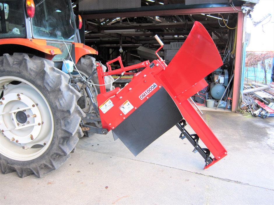 農家の人が、自分でトラクターに施工用の機械を装着して暗渠をする方法を写真付きでご紹介しています。