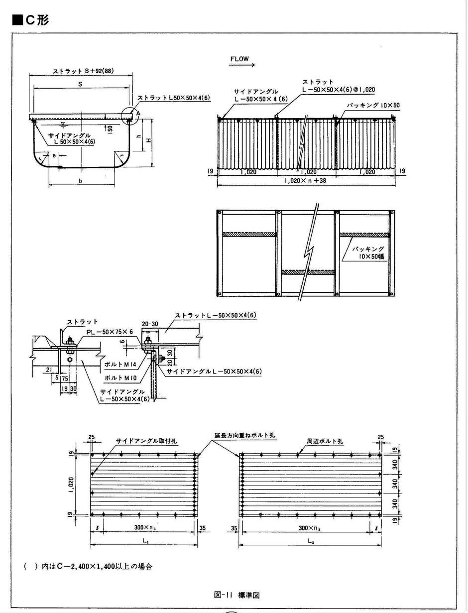 宅地造成地や工業用排水路、傾斜地や中山間地などで重機が入っていけない場所で、人力似て容易に設置が出来る鋼鉄製U字フリュームをご紹介しています。