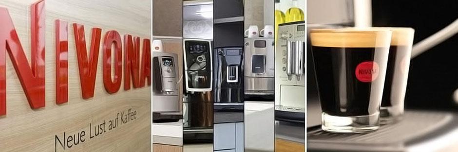 Nivona Kaffeevollautomaten für anspruchsvolle Kunden, direkt testen bei EP Kaldasch.