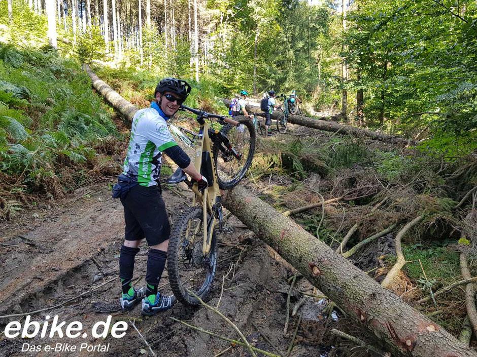 Mit FOCUS e-Mountainbikes unterwegs in der Sächsischen Schweiz