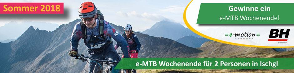 e-MTB Wochenende Ischgl