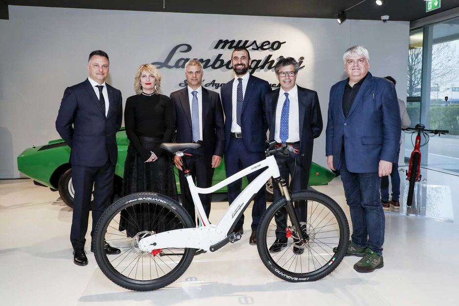 Lamborghini BMC Crosser e-Bike