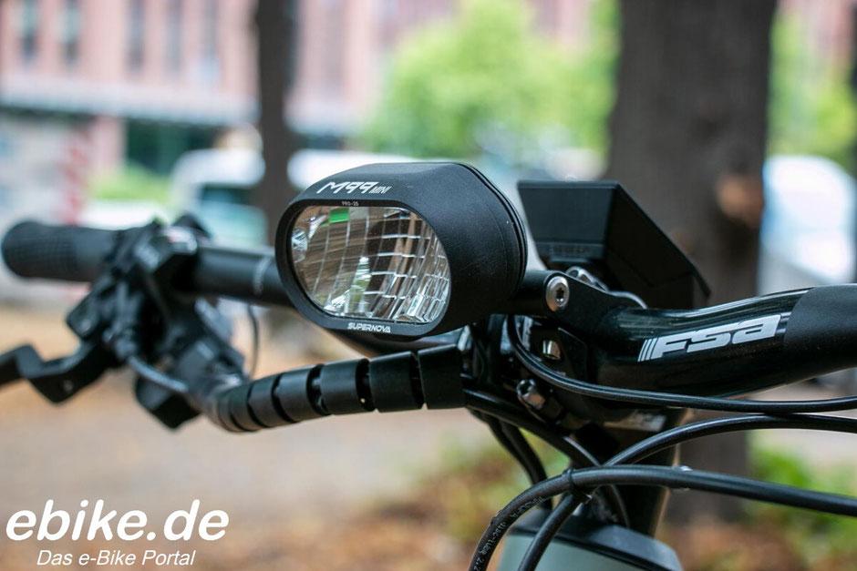 Riese & Müller Superdelite mountain 2020 mit Frontscheinwerfer