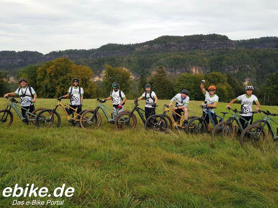 FOCUS e-Mountainbikes in der Sächsischen Schweiz getestet