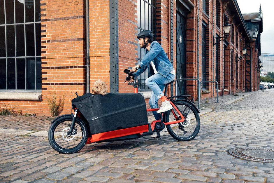 Packster 70 2021 - Neues Lasten e-Bike von Riese & Müller