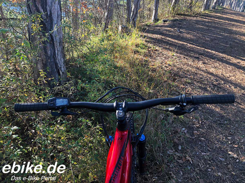 Testfahrt mit dem R Raymon Trailray E 10.0 im Wienerwald