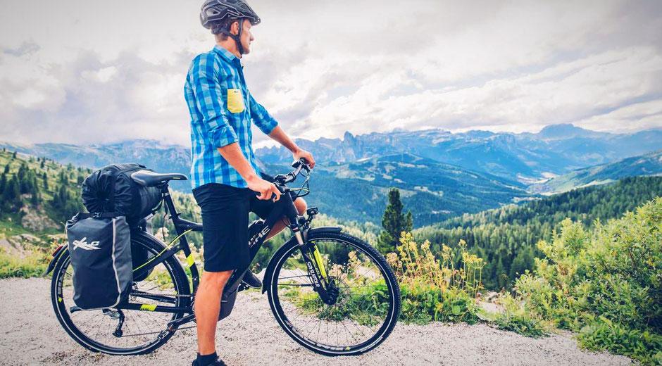 Yamaha PW Trekking e-Bike Antrieb