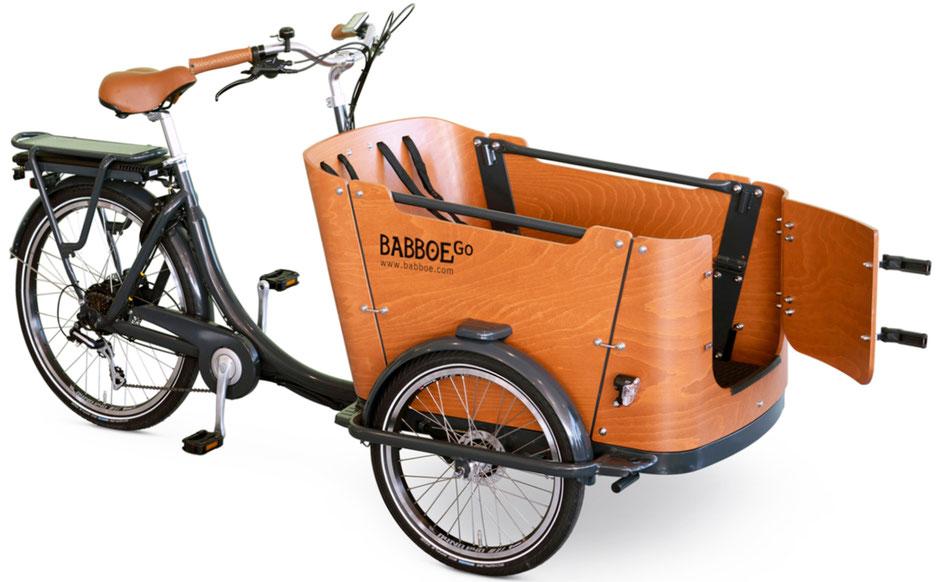 Das neue Lasten e-Bike Go-E von Babboe